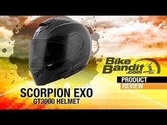 Scorpion EXO GT3000 Motorcycle Helmet at BikeBandit.com - YouTube