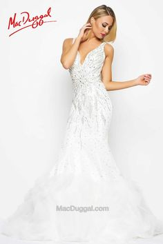 White Pageant Gown - 65672Y