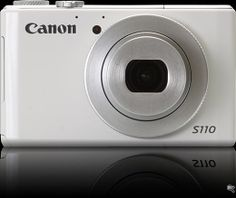 "Canon PowerShot S110 with WiFi and touch screen :::  ** 12MP 1/1.7"" Canon CMOS sensor  ** 24-120mm equivalent F2.0-5.9 lens, 4-stop 'Intelligent IS'.  ** DIGIC 5 processor  ** ISO 80-12800  ** Touch-sensitive 3"" 460k dot  ** PureColor II G screen  ** Built-in WiFi  ** RAW format recording  ** Built-in 3-stop Neutral Density filter"