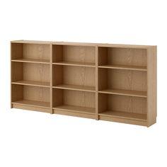BILLY Regał - dąb - IKEA