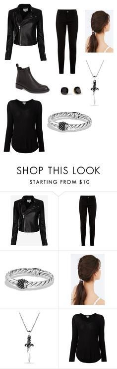 """""""Teenager in the forest"""" by cat-archer ❤ liked on Polyvore featuring IRO, Kate Spade, David Yurman, Urban Outfitters, Splendid and Pedro García"""