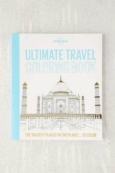 34 Amazing Travel Gifts For Everyone You Know/ coloring book urban outfitters