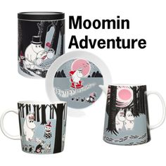 """Moomin Adventure"" by royaldesign on Polyvore #moomin #mumin #design"