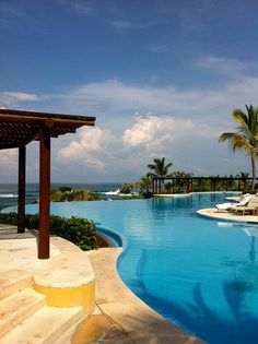 If you ever get a chance to go here, GO.  Four Seasons in Punta Mita, Mexico - AMAZINGLY GORGEOUS