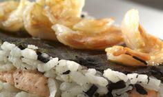 Receta de Lasaña de arroz, algas y pescado