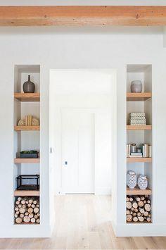 Bedroom Bookshelf Ideas. How to create and decorate bedroom bookshelves. #Bedroom #Bookshelf #Decor Ashley Winn Design.