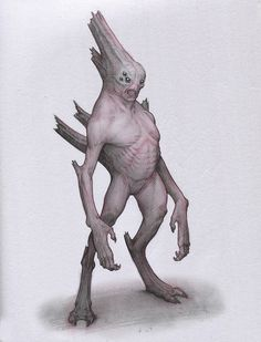 Cave Alien by Mavros-Thanatos demon devil Lovecraft monster beast creature animal | Create your own roleplaying game material w/ RPG Bard: www.rpgbard.com | Writing inspiration for Dungeons and Dragons DND D&D Pathfinder PFRPG Warhammer 40k Star Wars Shadowrun Call of Cthulhu Lord of the Rings LoTR + d20 fantasy science fiction scifi horror design | Not Trusty Sword art: click artwork for source