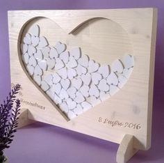 libro degli ospiti di nozze in legno massello di abete con p guestbook sposi legno traforo