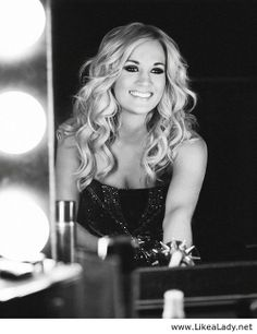 Carrie Underwood is a wonderful model for the teens and women in 2014. Her music is pretty wholesome matching her character. Most American women who like country music want to emulate her.