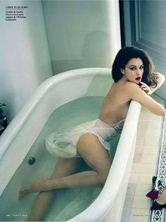 Monica Bellucci by Norman Jean Roy for Vanity Fair Spain February 2013 ♥Manhattan Girl♥