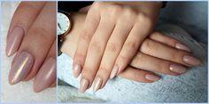 Nudziaki z efektem syrenki :) #nails #paznokcie #hybrydy #nude #beige #beżowe #efektsyrenki #indigo #semilac