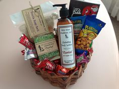 Valentine's Basket for Him from Mizz Kim's Creations