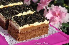 Romanian Desserts, Romanian Food, Sweet Cakes, Something Sweet, Nutella, Cake Recipes, Sweet Treats, Cheesecake, Deserts