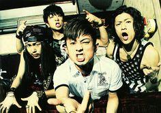 """TOTALFAT (pank rocker) in WHAT's IN? (Japan music magazine) 2012."""