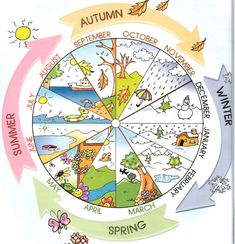 months and seasons dial