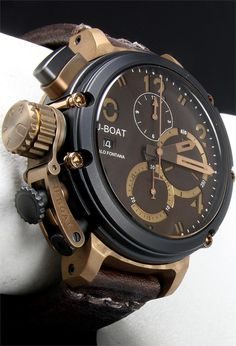 UBOAT Chimera B&B...bronze and titanium metal harmony
