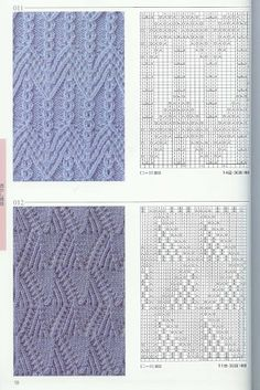 Kira knitting: Knitted pattern no. 54
