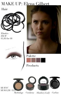 Elena Gilbert Make Up Look - Daddy Issues Apart from the episode, fans of The Vampire Diaries also discussed how lovely Elena looked in last week's episode Daddy Issues. I was also amazed by how. Elena Gilbert, Candice Accola, Vampire Diaries Makeup, Vampire Diaries Fashion, Looks Halloween, Halloween Makeup, Halloween 2019, Skin Makeup, Beauty Makeup