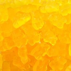 Lemon gummy bears are a tasty way to brighten up your candy buffet or birthday party.