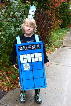 DIY: TARDIS Costume #doctorwho