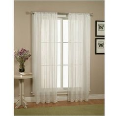 7248d308bcd Amazon.com  Exclusive Home Loha Linen Window Curtain Panel Pair with Grommet  Top