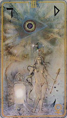 The Empress - Haindl Tarot
