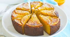 A simple & healthy cake made with whole orange and ground almonds | Gluten Free | Dairy Free | Refined Sugar Free