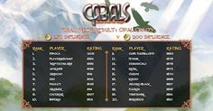 Opal Chaos Week 4 Results click to enlarge