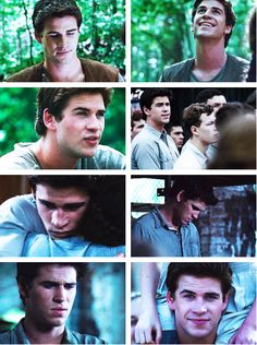 gale hawthorne - i honestly thought Gale was such a butt in C.F but with Liam playing him, i cant imagine him being mean. o_O