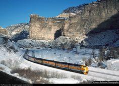 RailPictures.Net Photo: DRGW 5771 Denver & Rio Grande Western Railroad EMD F9(A) at Castle Gate, Utah by James Belmont