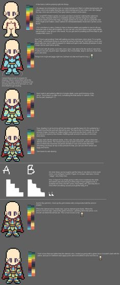 Basic Character Stuff by cospixels