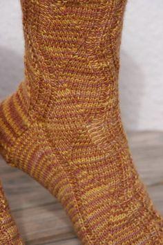 Socken mit dem Gundel-Muster
