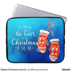 Choose from a variety of Elegant laptop sleeves or make your own! Shop now for custom laptop sleeves & more! Elegant Christmas, Christmas Fun, Personalized Products, Customized Gifts, Christmas Hearts, Custom Laptop, Best Laptops, Simple Gifts, Family Kids