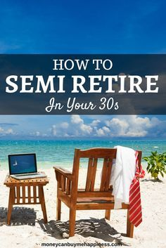 For some of us, early retirement just isn't possible. For whatever reason we haven't emerged from our twenties with huge pots of cash. That's not to say we've failed, after all you wouldn't be reading this blog if you didn't have an interest in money. You might be like me, with a few investment properties under your belt and a rock-solid idea of how to get where you're going. You're just not there, yet. There is an alternative: Semi Retirement.