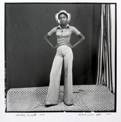 Wonderful image by the legendary Malick Sidibe