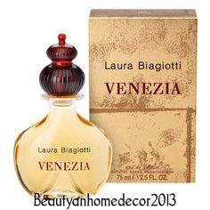 Venezia Perfume by Laura Biagiotti 2.5 oz Eau De Parfum Spray for Women NIB #LAURABIAGIOTTI