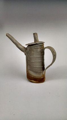 Wood Fired Teapot by DarkstarPottery on Etsy