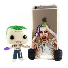 Hopefully Jared Leto does a good job playing the Joker in Suicide Squad. In the mean time you can pick up this combo of an iPhone case and a Funko Pop of the Joker from Toy Thug!