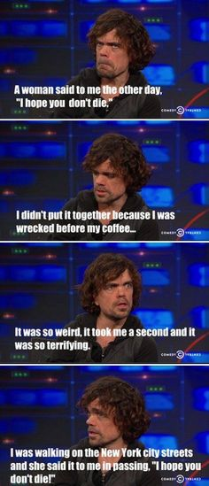 Game of thrones funny humour meme, Peter Dinklage, Tyrion Lannister Game Of Throne Lustig, Game Of Thrones Instagram, Game Of Thrones Meme, Got Memes, My Sun And Stars, Looks Cool, Hilarious, It's Funny, Funny Humour