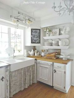 KITCHEN On Pinterest Shabby Chic Kitchen Vintage Kitchen And Shabby