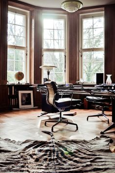 The Berlin home of gallerist Thomas Andrae, from Freunde von Freunden