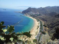 Playa de Las Teresitas in Santa Cruz de Tenerife, Canarias
