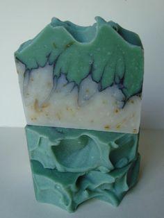Kleur: Groen (Reseda) ~Eucalyptus Zeep~