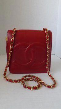 dcc85f629a0932 Chanel Vintage Handbag Red Cross Body Bag. Get the trendiest Cross Body Bag  of the