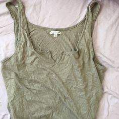 American Eagle Gray Tank Top Brand new // XL for a sexier fit American Apparel Tops Tank Tops