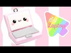 DIY Kawaii Laptop Polymer Clay Tutorial