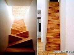 Alternative Moderne Trapper: Flot trappe, men nok ikke sagen hvis man går i søvne !
