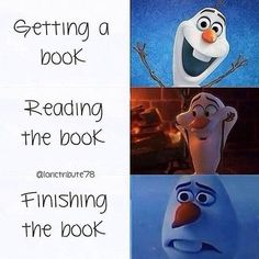 Getting a book . Reading the book . Finishinh the book. Disney Jokes, Funny Disney Memes, Funny Relatable Memes, Disney Princess Memes, I Love Books, Good Books, My Books, Reading Books, Book Memes