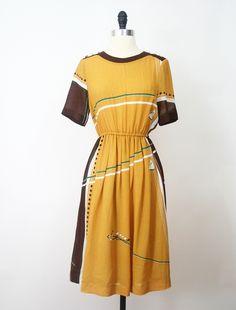 Follow the Anchor Japanese Vintage Dress https://www.etsy.com/listing/160030875/japanese-vintage-dress-70s-dress-follow?ref=shop_home_active #vtg #vintage #fashion #dress #vintagefashion #vintagedress