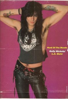 Kelly Nickels , L.A Guns